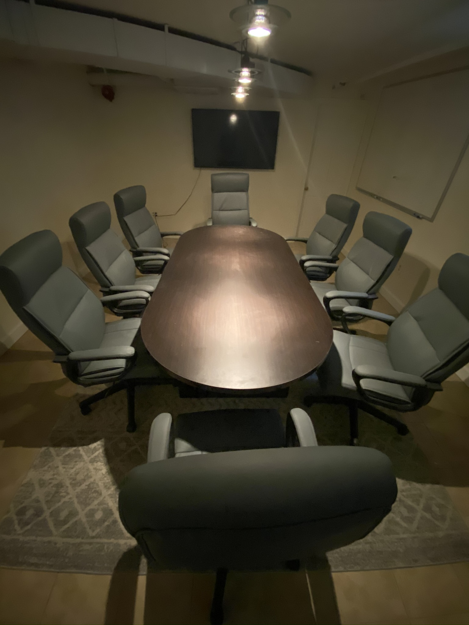 Fourte International Real Estate's Conference Room in Verona, New Jersey where real estate closings, settlements and depositions take place